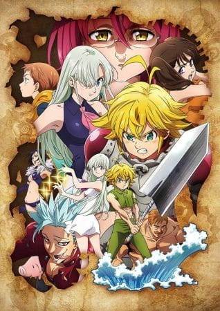 The Seven Deadly Sins: Wrath of the Gods (ITA)