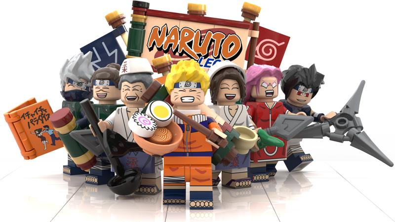 I fan di Naruto creano la versione LEGO del negozio di ramen